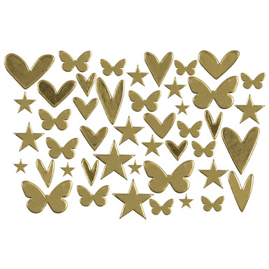 86843 goldfoilchipboardshapes